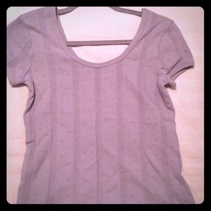 Madewell gray knit top